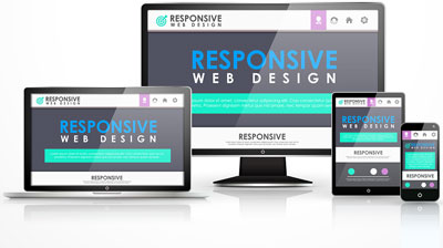 Responsive Designed Websites for different screens
