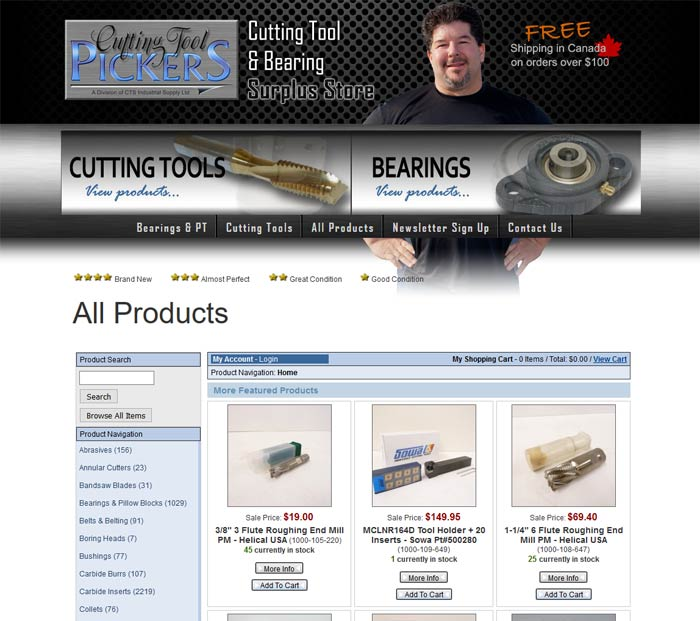 manufacturer parts website